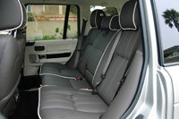 2011 Land Rover Range Rover Supercharged rear seats