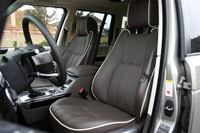 2011 Land Rover Range Rover Supercharged front seats