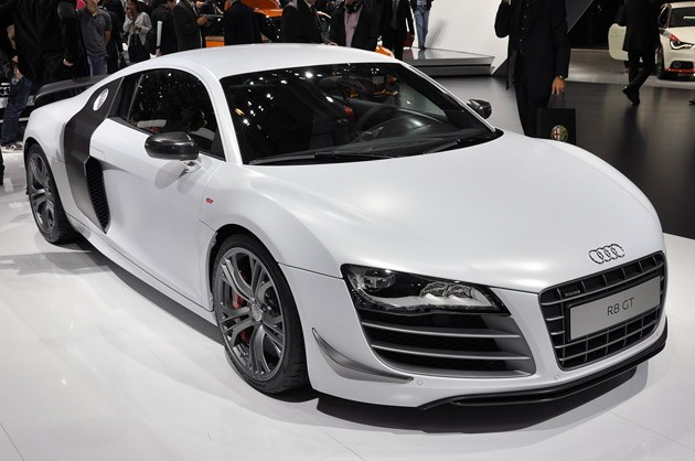 2011 Audi R8 GT is powerful, lightweight gorgeousness