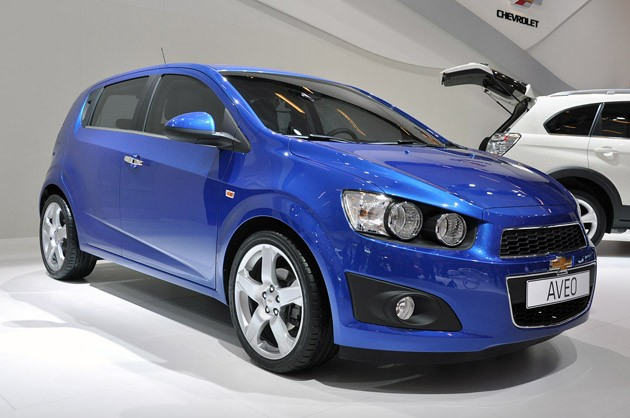 2012 Chevy Aveo show car
