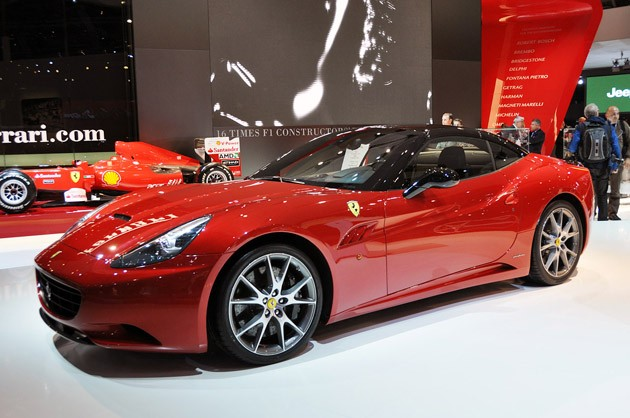 Ferrari California with HELE System
