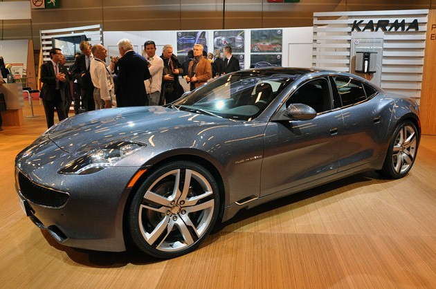 First Factory-Built Fisker Karma