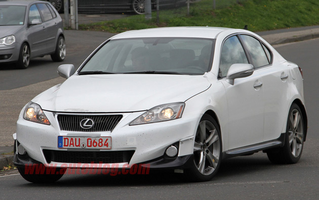 Next-gen Lexus IS mule