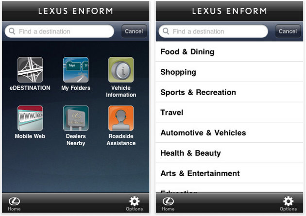 how to add apps to lexus enform