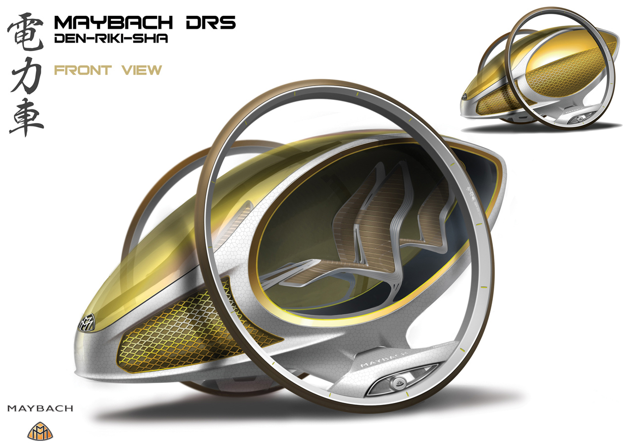 maybach01 1287589324 LA Auto Show Design Challenge entrants reveal 1,000 pound car concepts
