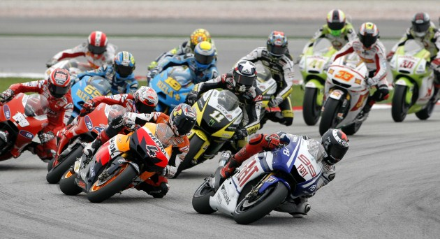 MotoGP Sepang Turn 1