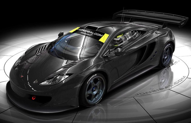 McLaren MP4-12C GTR renderings by Jon Sibal