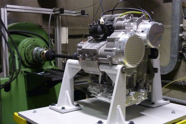 Nembo Motociclette engine on the dyno