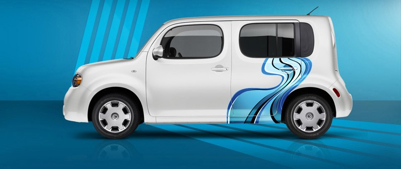 Nissan Graphics - Nissan Cube