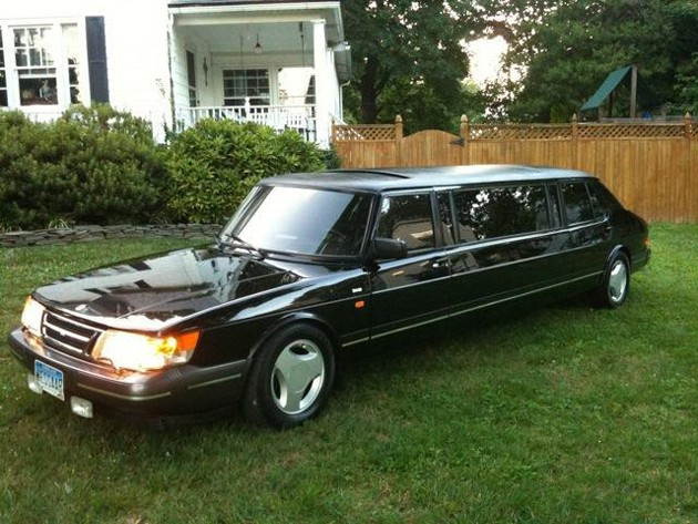 1985 Saab 900 Turbo Limousine