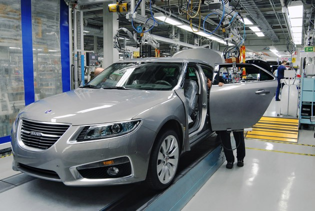 Saab 9-5 Production Facility