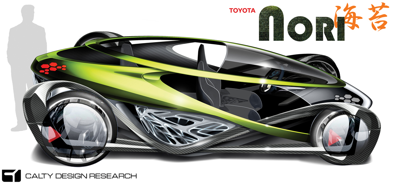 toyota01 LA Auto Show Design Challenge entrants reveal 1,000 pound car concepts