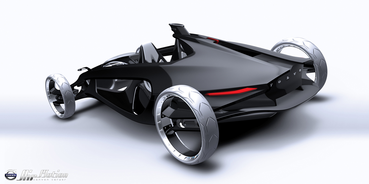 volvo01 LA Auto Show Design Challenge entrants reveal 1,000 pound car concepts