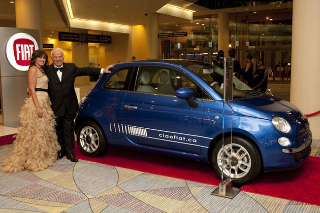 Fiat 500 Prima Edizione at the Venetian Ball – Click above for high-res