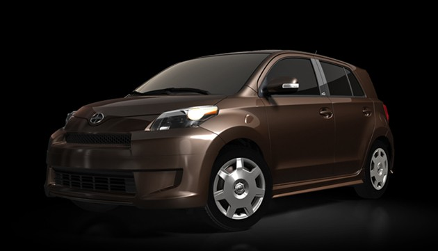 Scion xD Release 3.0 - front three-quarter view, brown