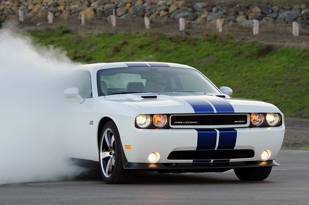 2011 Dodge Challenger SRT8 392 burnout