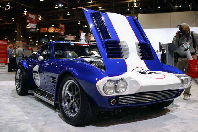 LSA E-Rod powered Superformance Grand Sport Coupe
