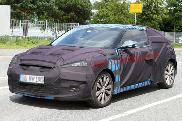 2012 Hyundai Veloster spy shots