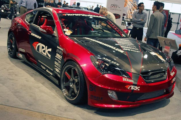 ARK Racing Hyundai Genesis Coupe