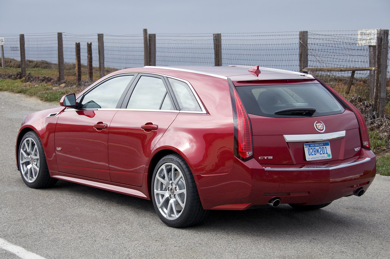 2011 Cadillac Cts V Wagon First Drive Photo Gallery