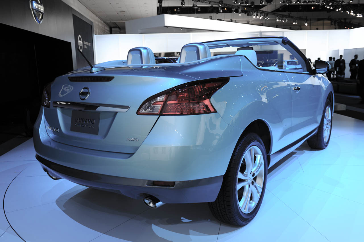 Nissan St Catharines >> LAIAS: Nissan Murano CrossCabriolet debuts with $46,390 price tag