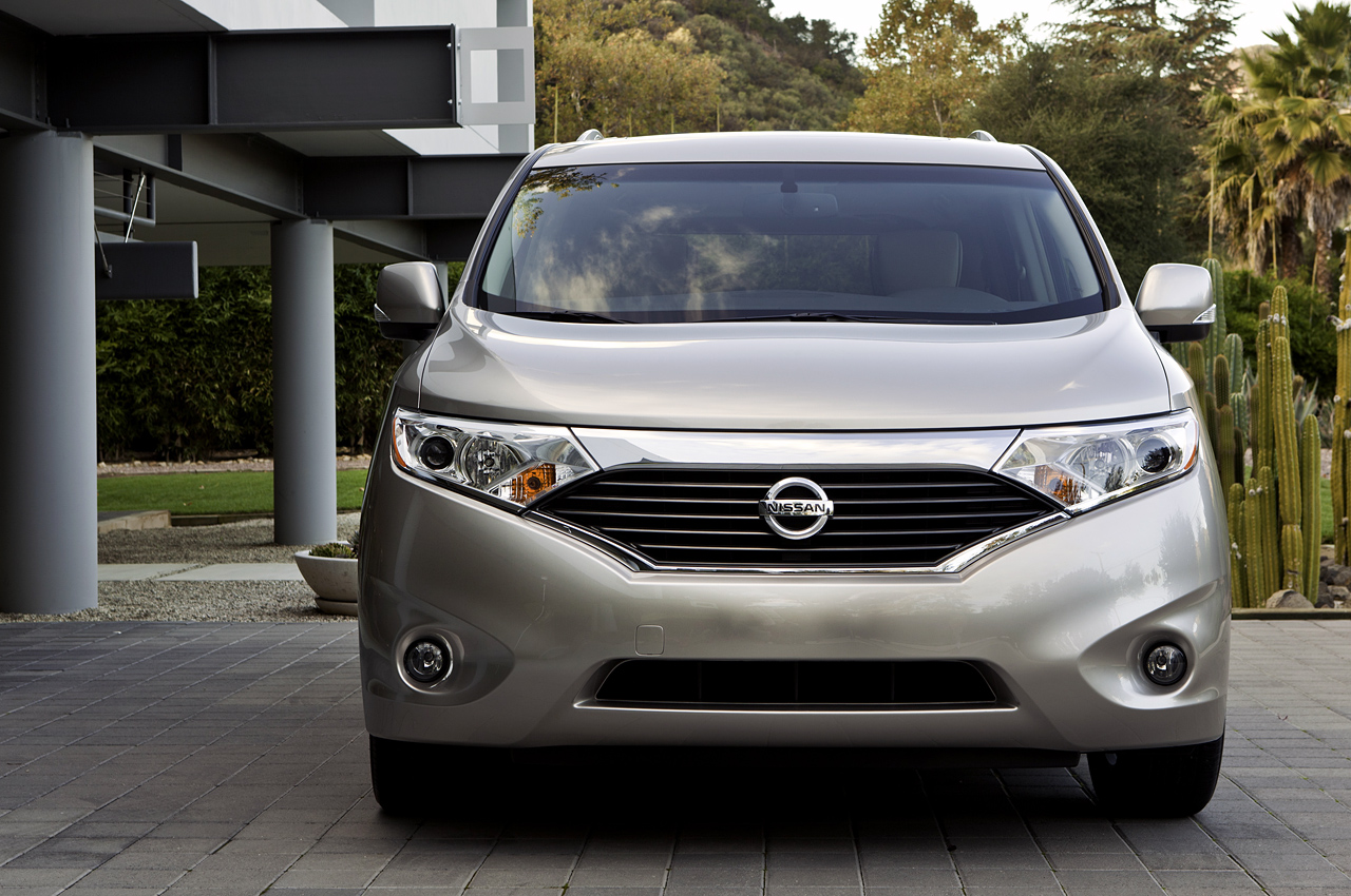 who said minivans are boring new 2011 nissan quest. Black Bedroom Furniture Sets. Home Design Ideas