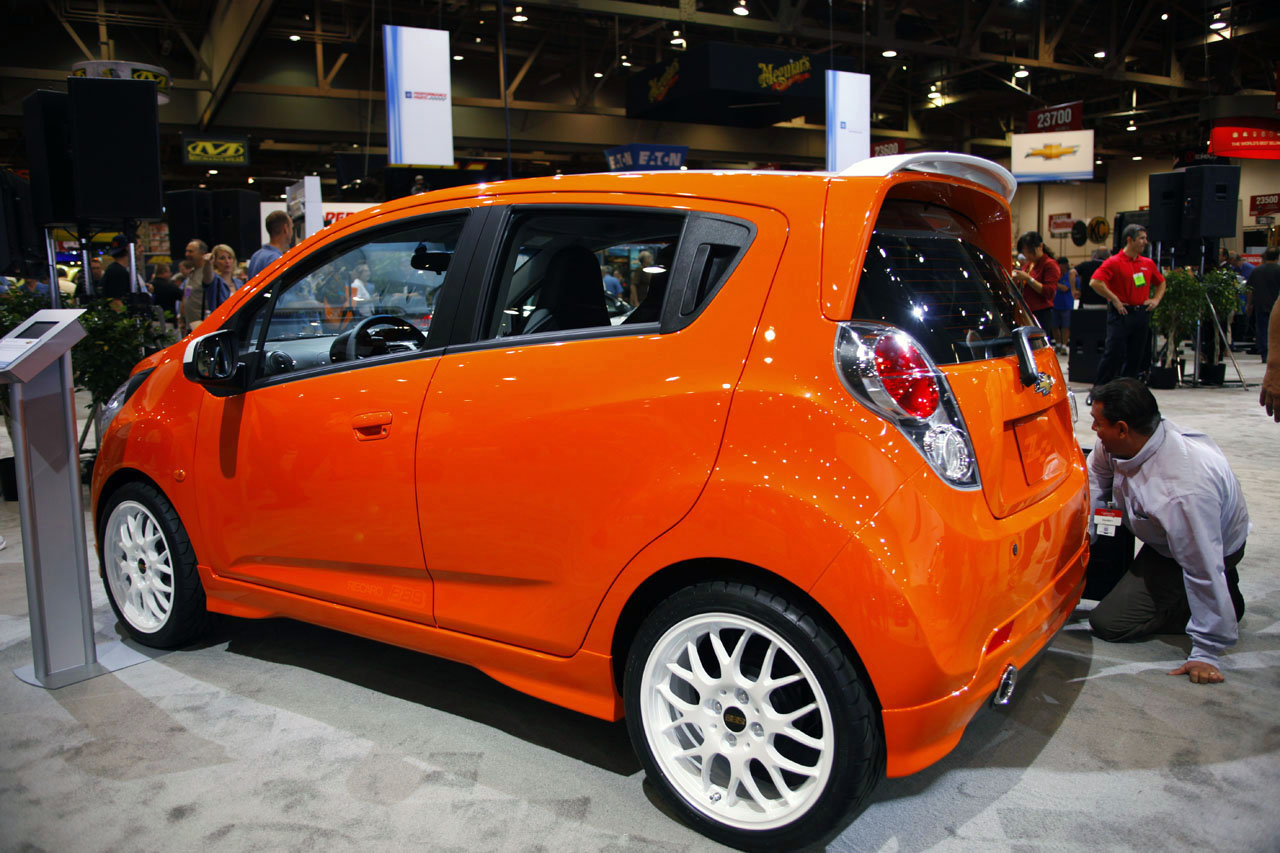 sema 2010 chevrolet spark z spec photo gallery autoblog. Black Bedroom Furniture Sets. Home Design Ideas