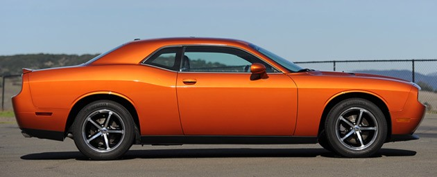 2011 Dodge Charger SE V6 side view