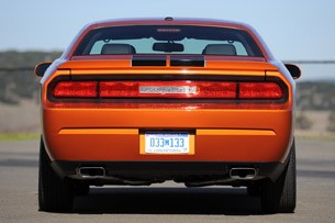 2011 Dodge Challenger SE V6 rear view