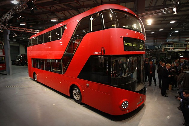 New London Routemaster Double-Decker Bus Prototype