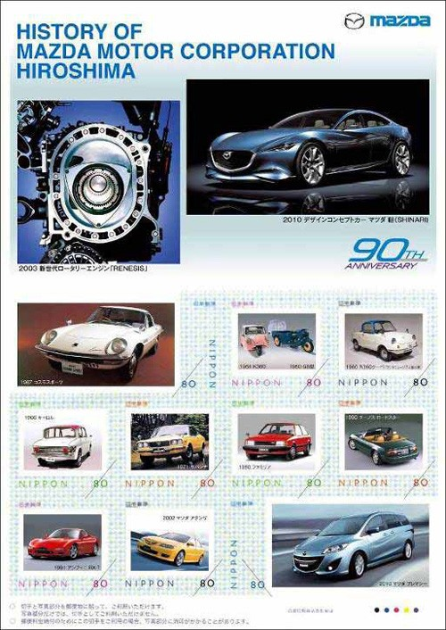 History of Mazda Motor Corporation Hiroshima