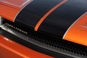 2011 Dodge Challenger SE V6 hood stripes