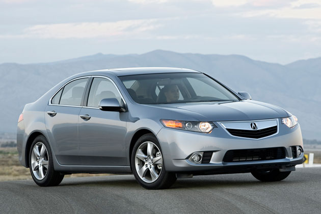 la 2010 acura tsx sedan gets minor updates for 2011. Black Bedroom Furniture Sets. Home Design Ideas