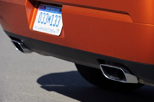 2011 Dodge Challenger SE V6 tail pipes
