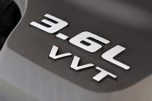 2011 Dodge Challenger SE V6 engine cover