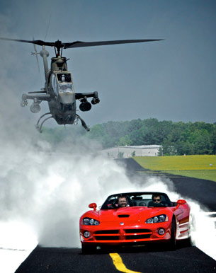 Top Gear USA Viper vs Cobra helicopter