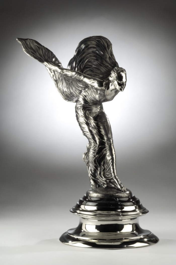 spirit of ecstasy sculpture by priory fine arts photo. Black Bedroom Furniture Sets. Home Design Ideas