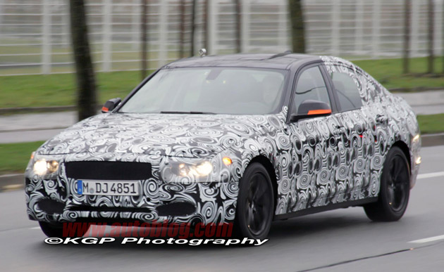 BMW 3 Series spy shots