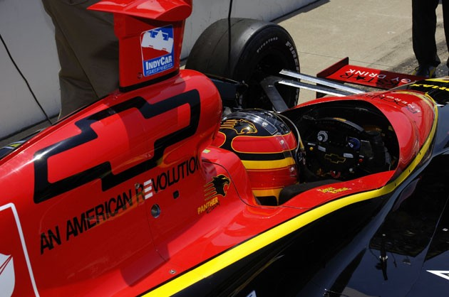 Chevrolet supplying V6 engines for IndyCar series