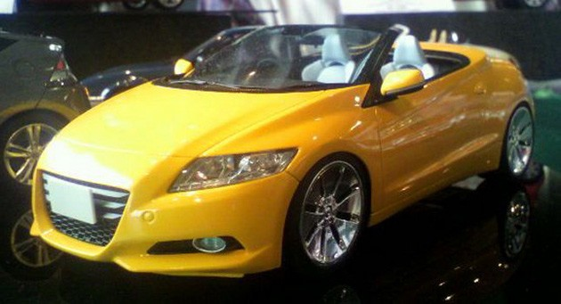 Die-cast Honda CR-Z Roadster
