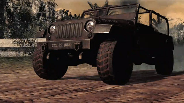 Jeep Wrangler Call of Duty: Black Ops Edition gameplay