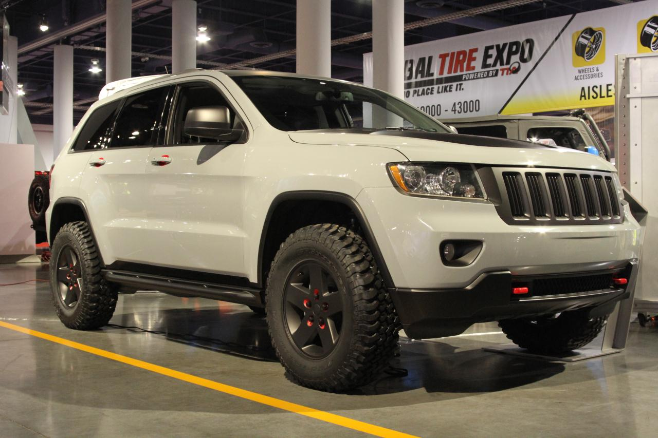Sema 2010 Jeep Grand Cherokee Off Road Edition Photo Gallery Autoblog