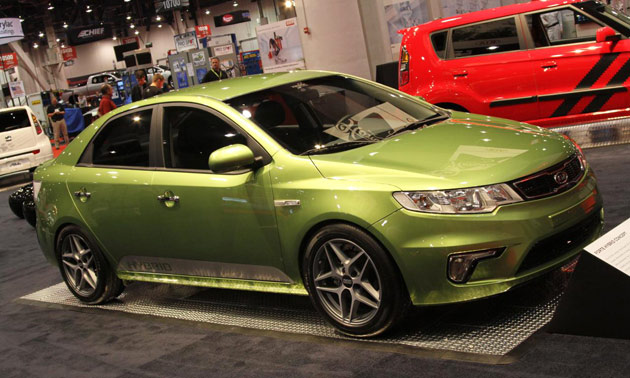 Kia Forte Hybrid concept