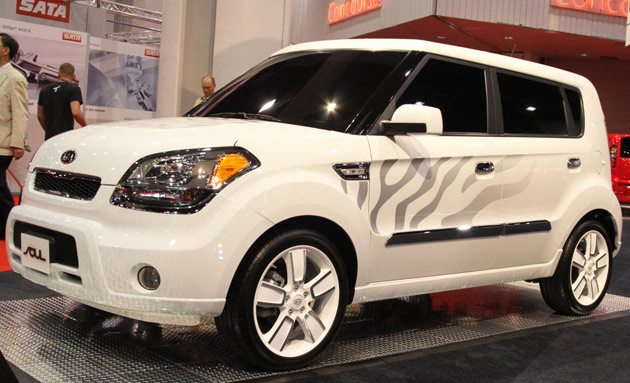 Kia Soul White Tiger concept