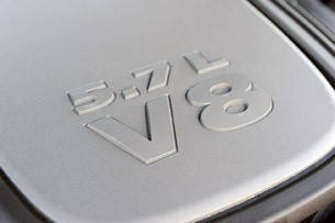 2011 Dodge Durango engine badge
