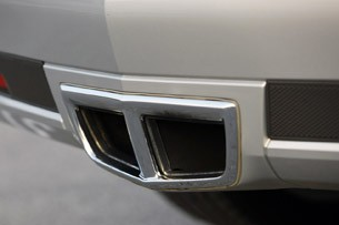 2011 Cadillac CTS Coupe exhaust system