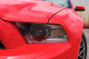 2011 Ford Shelby GT500 Convertible headlight