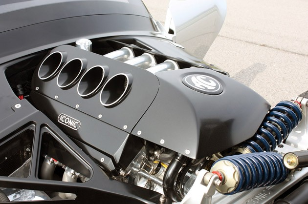 2012 Iconic AC Roadster engine