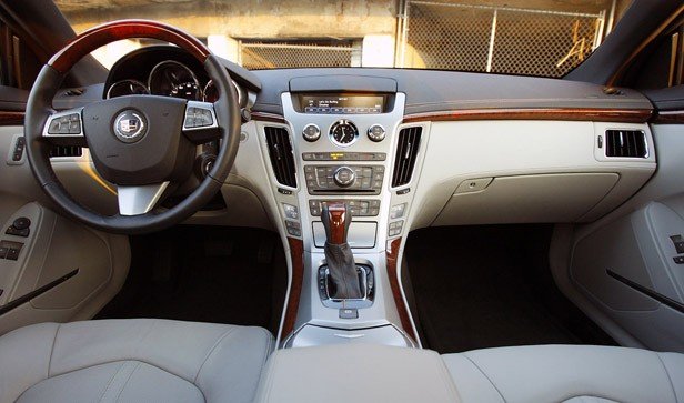 2011 Cadillac CTS Coupe interior