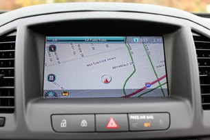 2011 Buick Regal CXL navigation system